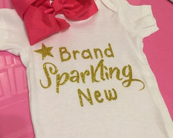 Brand Sparking New Onesie