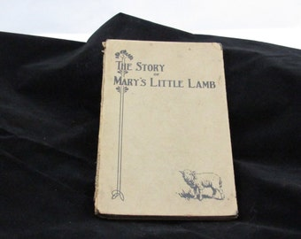 1st edition Mary had a little lamb Henry ford