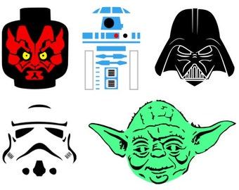 Lego Star Wars masks