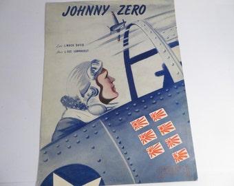 Mid Century Johnny Zero Patriotic Sheet Music