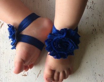Barefoot sandals; baby barefoot sandals; navy sandal; toddler barefoot sandal; sandal