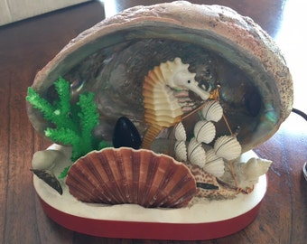 Seashell Night Lamp