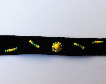 Abundance - suede bracelet