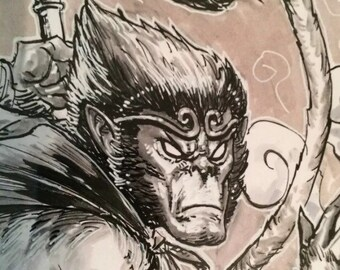 Monkey King Illustration For Sale!!!!