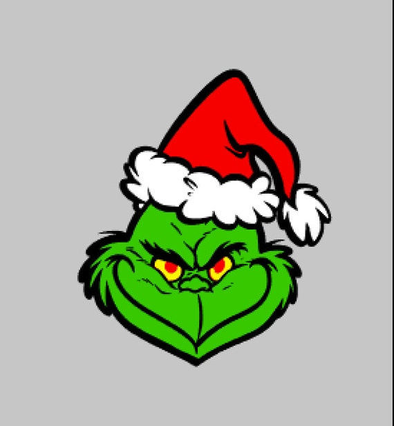 SVG DXF STUDIO Grinch Scalable Vector Instant Download Commercial Use ...