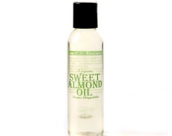 Almond Sweet Organic Carrier Oil - 125ml