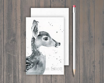 Fawn Profile Postcard