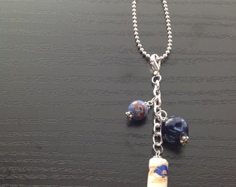 Planner charm ceramic beads with ball chain extender