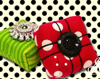 With Love: A Present Pincushion Pattern
