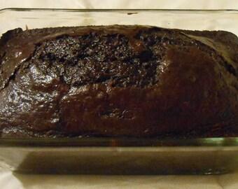 1 loaf of Chocolate zucchini bread bread