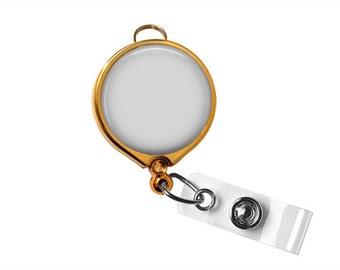 Digital Template for gold Badge Reel. Instruction included. Instant download 1046