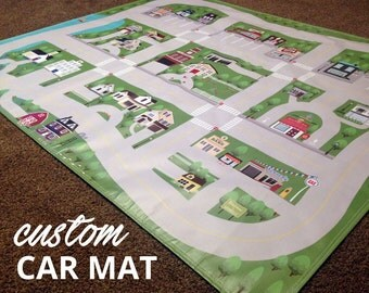 Custom Town Car Mat!