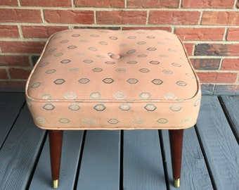 Tufted Ottoman Etsy