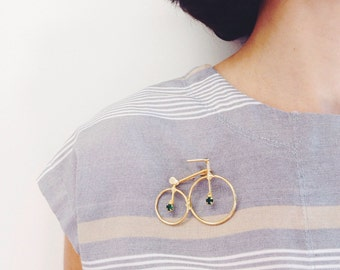 Vintage bike Brooch Jewel from the 90s
