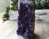 Amethyst Standing Crystal Cluster