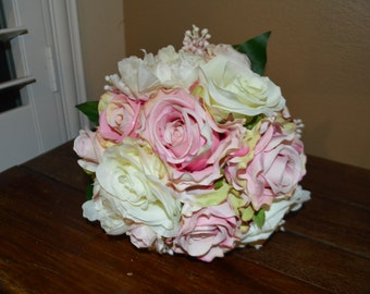 Bridal Bouquet, Brides Bouquet, Wedding Bouquet, Wedding Flowers, Wedding Decor, Brides Bouquets,  Rose & Peony Bouquet, Garden Bouquet