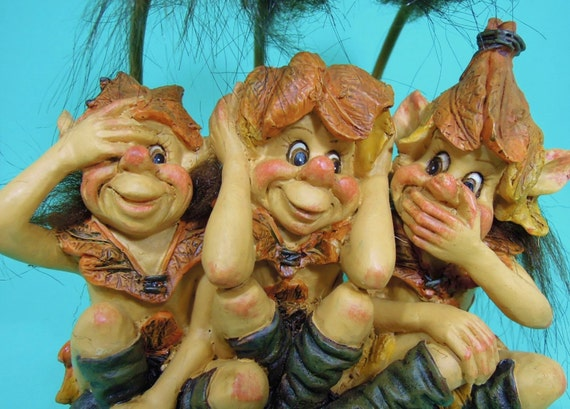 Image result for three wise trolls
