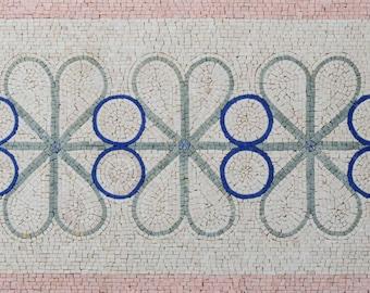 Floral Mosaic Border - Maaria