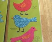 Go! Accuquilt  Birds Die