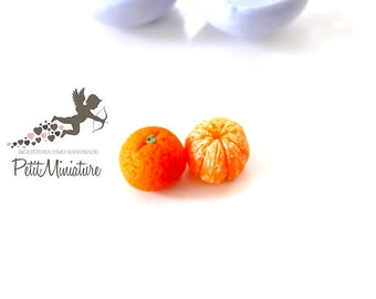 Silicone Mold-Tangerine Fruit Mold-Fimo-Dollhouse Miniatures-Polymer Clay Mold-Fimo Mold-Jewelry Molds-Silicone Molds-Polymer Clay-ST300