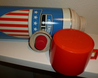 Vintage King - Seeley Coffee Thermos From The 1970's