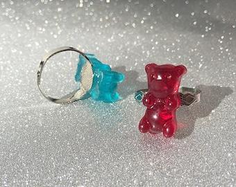 Gummy Bear Ring Adjustable
