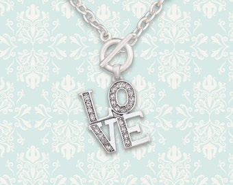 LOVE Toggle Necklace - 49764