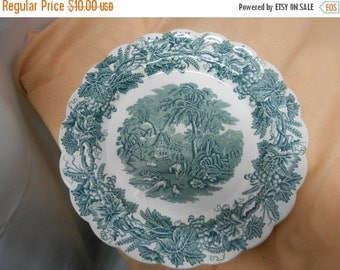 "SALE Booth China Dinner Plate- British Scenery"" pattern, England"