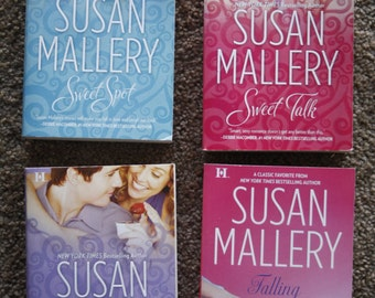 Lot of 4 Susan Mallery books