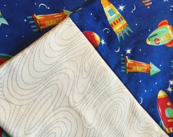 Spaceship Pillowcase