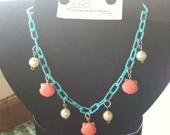 Novelty mermaid necklace