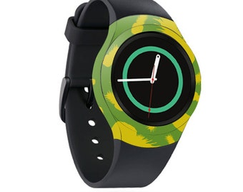 Skin Decal Wrap for Samsung Gear S2, S2 3G, Live, Neo S Smart Watch, Galaxy Gear Fit cover sticker Pineapple Print