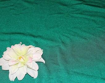 Emerald Green Dance Knit Fabric Destash, F161