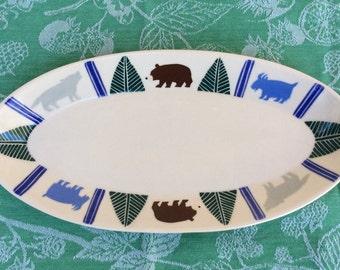 Montana pottery platter