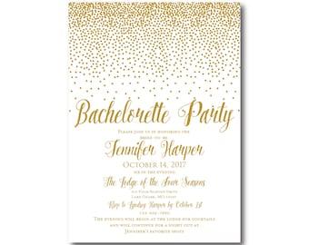 PRINTABLE Bachelorette Party Invitation, Bachelorette Party Invitation, Girls Night Out, Printable Invitation, Bachelorette Party #CL116