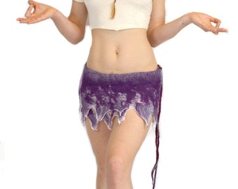 Nuno Mini Skirt - Purple