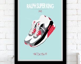 Ralph Super King - Nike Air Max 90 Infrared - David S. Ward - 1991
