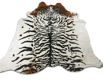 White Tiger Rug Etsy
