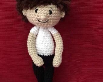 Boy Fantasy Doll, ballet doll, ballet gift, dance recital gift