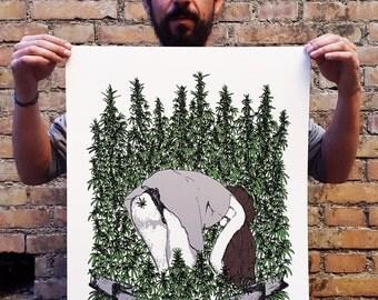 The Harvest - Silkscreen Poster