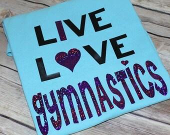Gymnastics love shirt