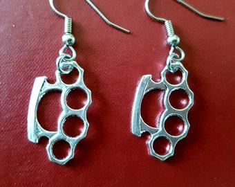 Knuckleduster Earrings