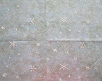 Winter Sky Fabric - Giordano Studios for Spectrix - Christmas Winter - 18 x 44