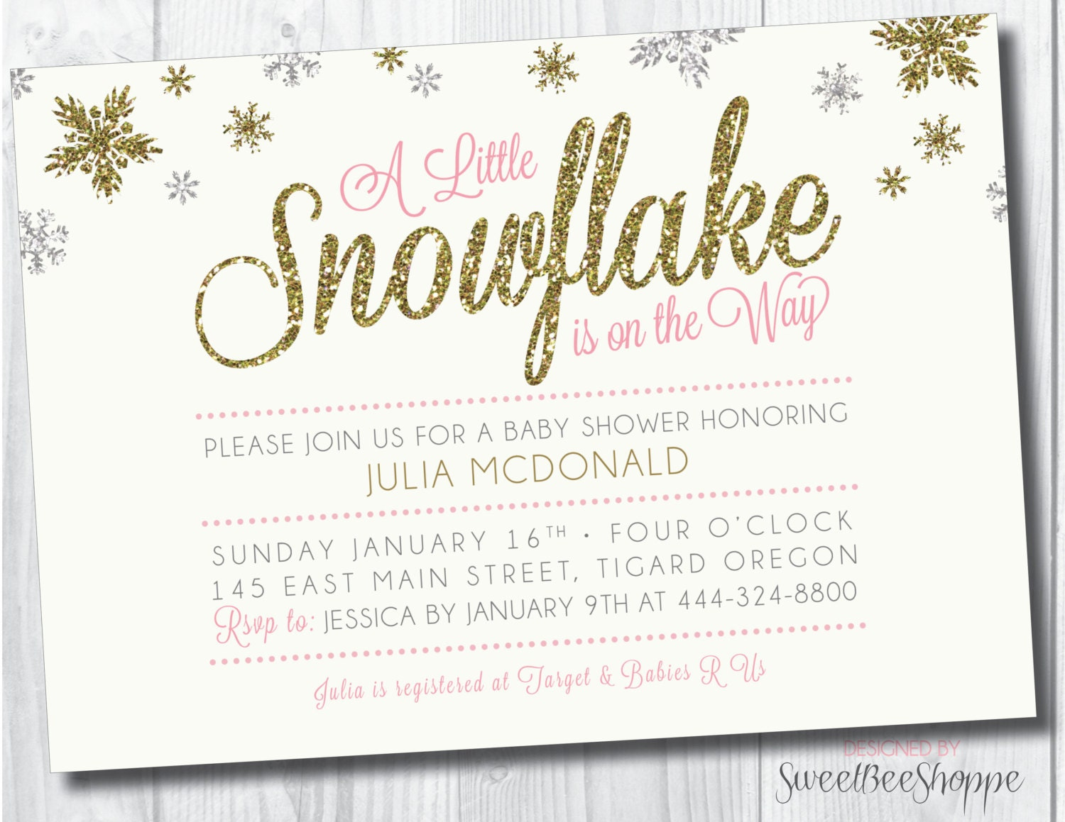Silver And White Snowy Baby Shower - Baby Shower Ideas ... |Winter Theme Baby Shower