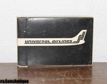 Extremely Rare Universal Airlines Card Deck!