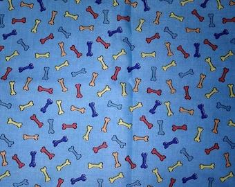 Clifford The Big Red Dog Bone Fabric