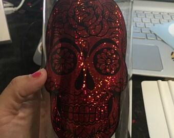 Sugar skull 34 oz bottle
