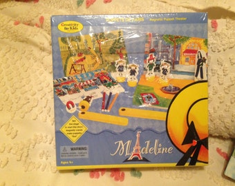 Madeline Magnetic Puppet Theater and Frame