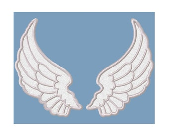 Angel Wings Applique Machine Embroidery DESIGN NO. 534
