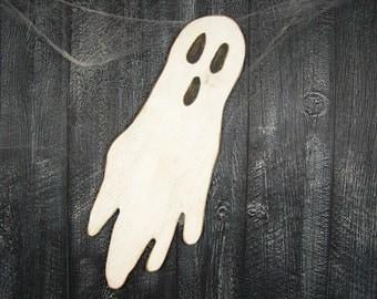halloween ghost decor wooden halloween decoration spooky decor halloween decor halloween party decor wood ghost sign